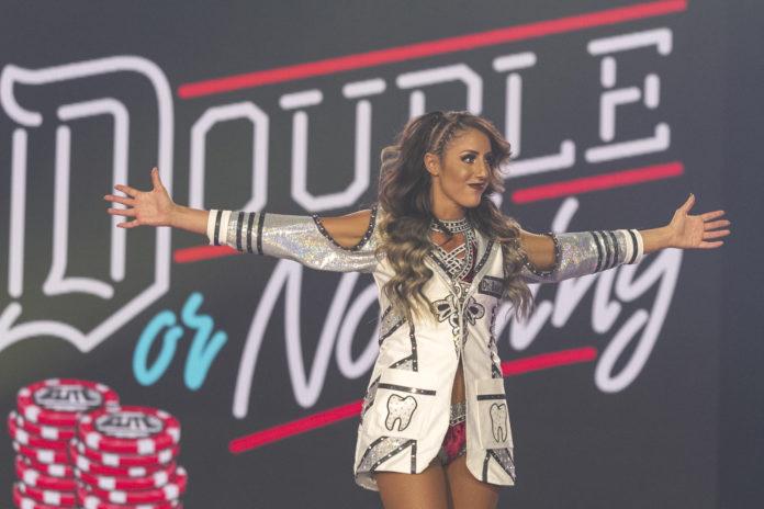 Britt Baker wants Adam Cole to meet four AEW stars