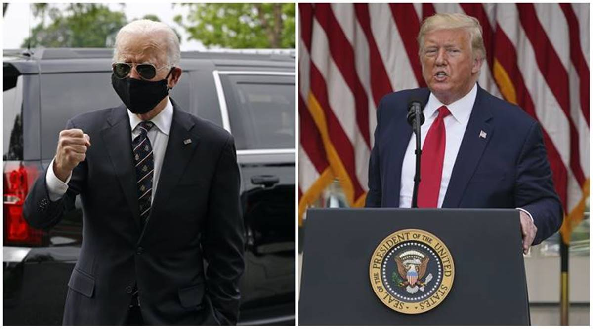 Joe Biden Calls President Trump A 'Fool' After He Was Mocked By the President for Wearing Mask