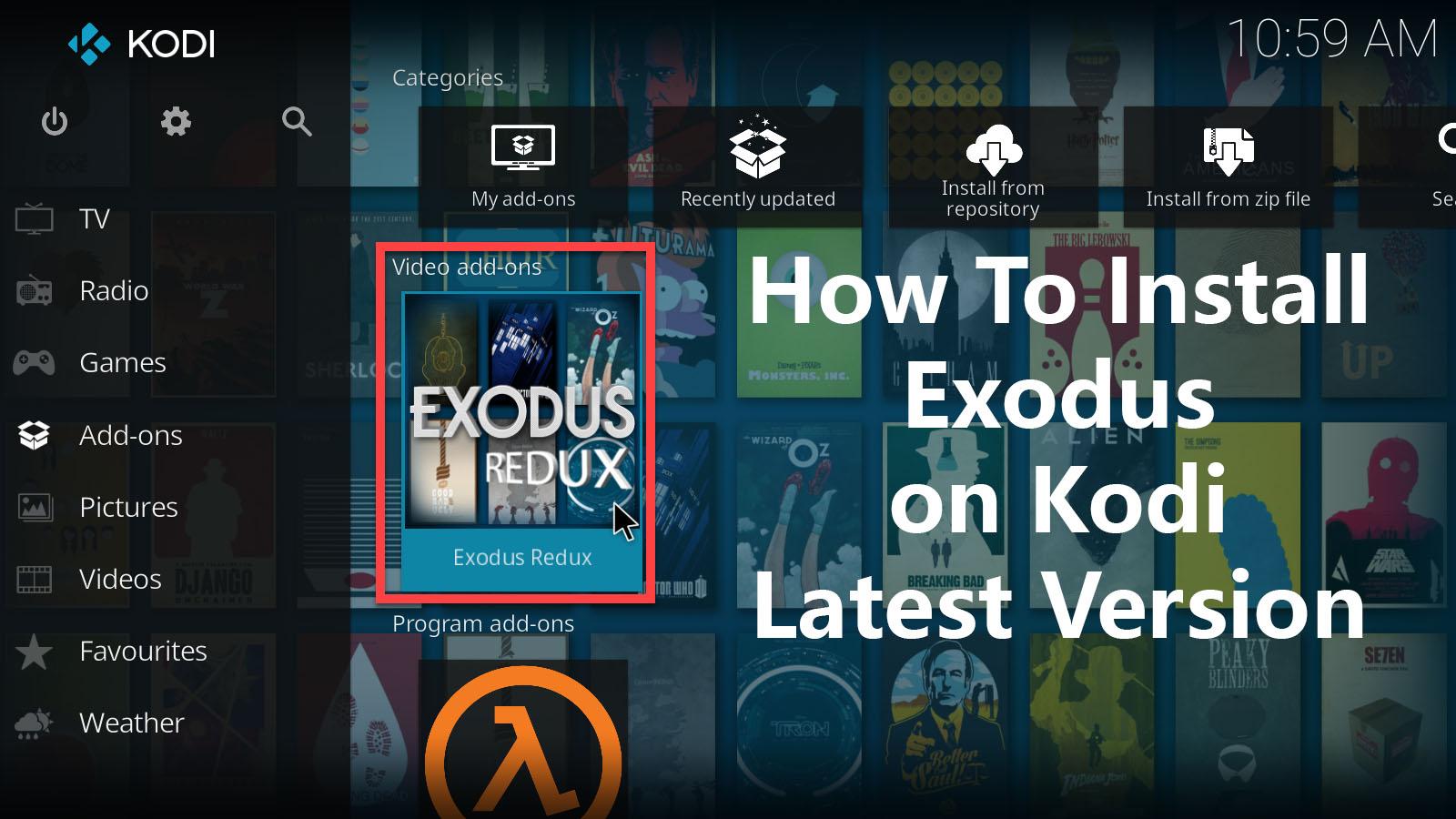 How to Install exodus on kodi Krypton