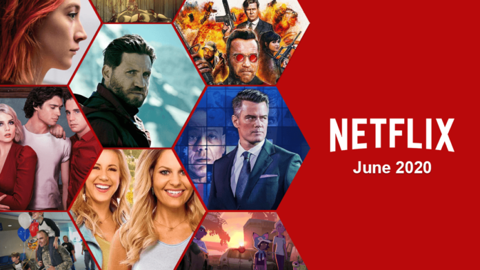 Here's a list of what's coming to Netflix in June 2020